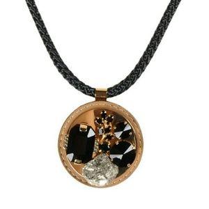 Marni Pyrite & Stone Necklace (NWT)